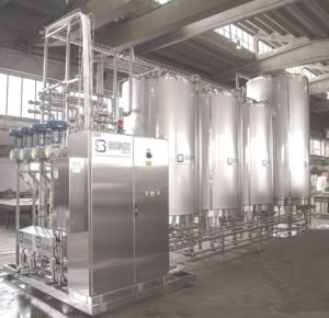 CIP cleaning units